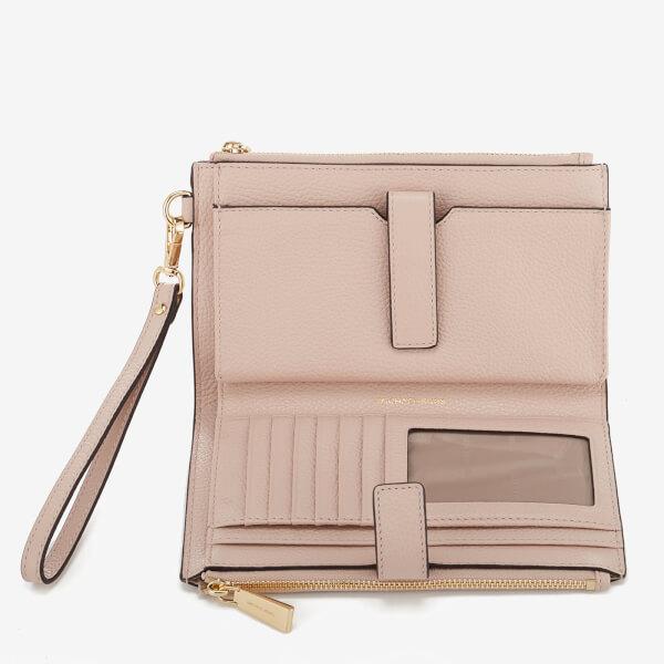 9ee4f7be6212 MICHAEL MICHAEL KORS Women's Double Zip Wristlet - Soft Pink: Image 3