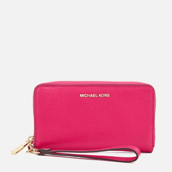MICHAEL MICHAEL KORS Women's Large Flat Phone Case - Ultra Pink