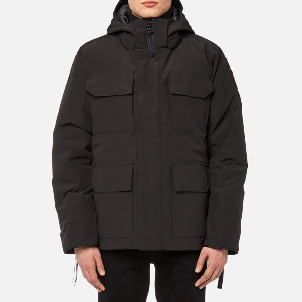 Canada Goose Men's Black Label Maitland Parka - Black