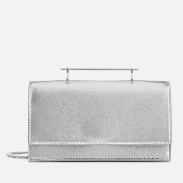 M2Malletier Women's Alexia Small Cross Body Single Hardware Bag - Metallic Silver/Single Silver