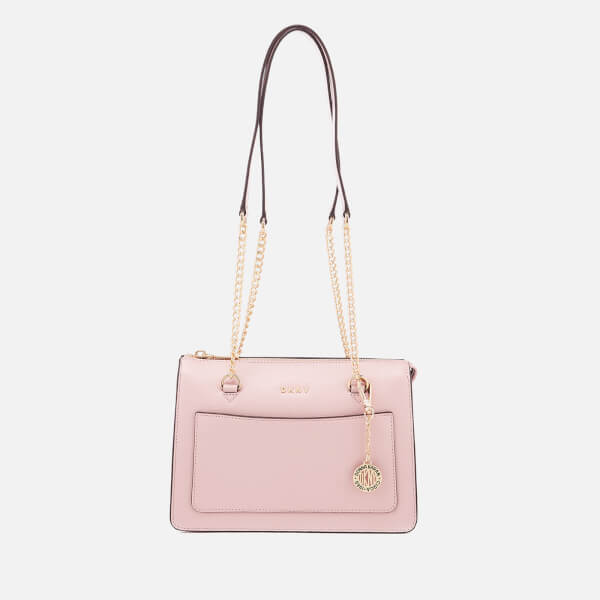 DKNY Women's Small Zip Tote Bag - Blush