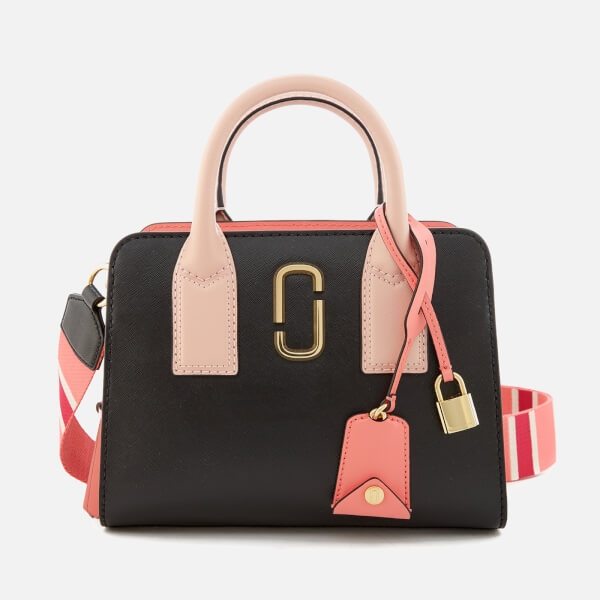 Marc Jacobs Women's Little Big Shot Tote Bag - Black/Gazelle