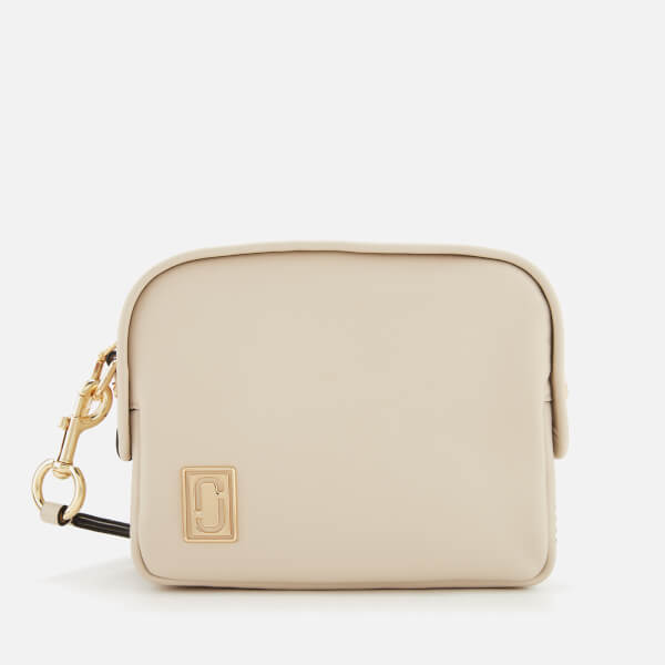 Marc Jacobs Women's The Mini Squeeze Cross Body Bag - Cloud White