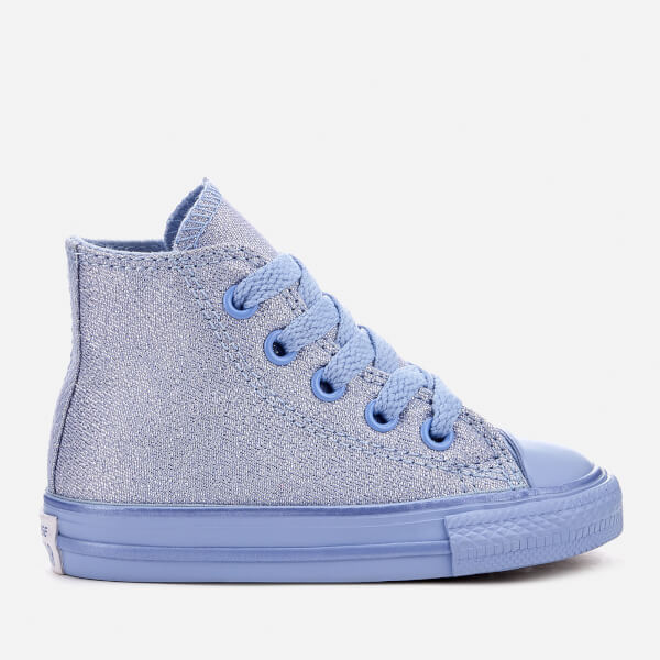 c5d42e574957f9 Converse Toddlers  Chuck Taylor All Star Hi-Top Trainers - Blue Chill Blue