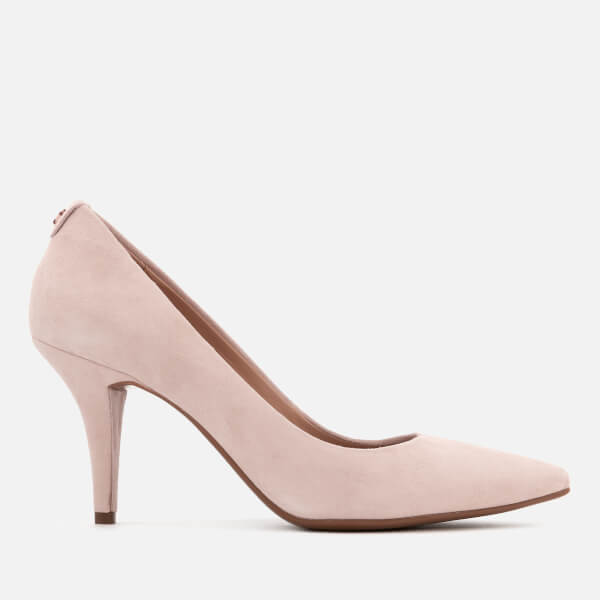 MICHAEL MICHAEL KORS Women's MK-Flex Suede Court Shoes - Soft Pink