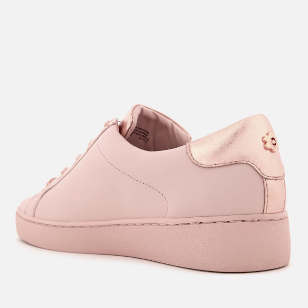 0e5b596f0b93 MICHAEL MICHAEL KORS Women s Irving Leather Low Top Trainers - Soft Pink   Image 2