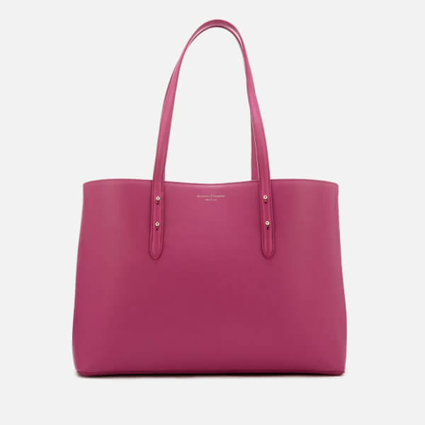 Aspinal of London Women's Regent Tote Bag - Orchid