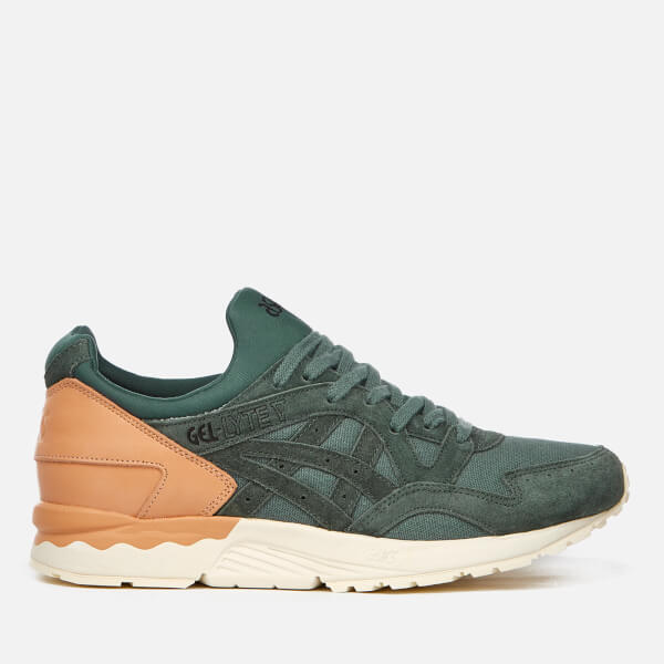 Asics Lifestyle Men's Gel-Lyte V Canvas Trainers - Dark Forest - UK 9 uwqxGHmUhJ