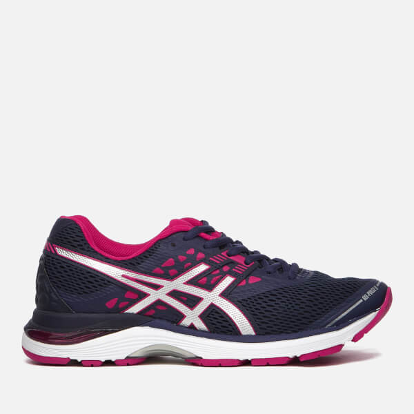 2a0f61753c46 Asics Running Women s Gel-Pulse 9 Trainers - Indigo Blue Silver Bright Rose