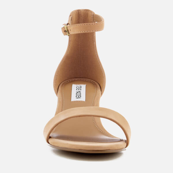 5a6f6750ca1 Steve Madden Women s Irenee Block Heeled Sandals - Tan  Image 2