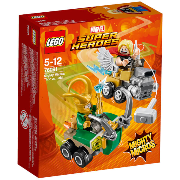LEGO Superheroes Mighty Micros: Thor Vs. Loki (76091)