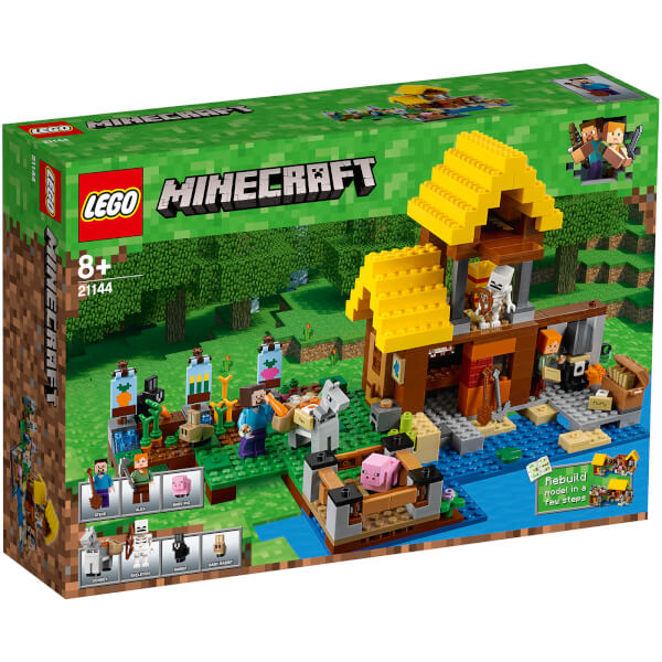 LEGO Minecraft: The Farm Cottage (21144)
