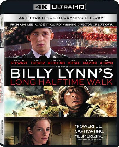 Billy Lynn's Long Halftime Walk - 4K Ultra HD