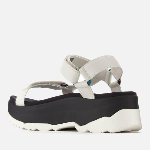 8d2f462633cdf5 Teva Women s Zamora Universal Flatform Sandals - White Womens ...
