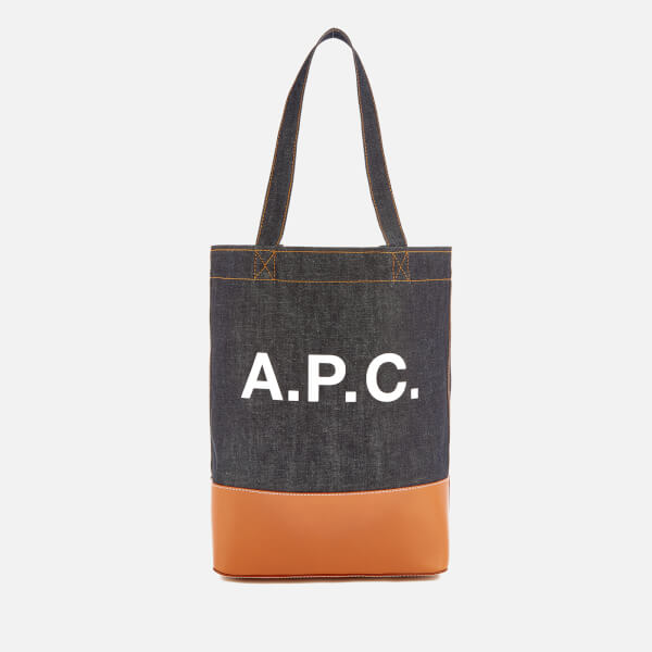 A.P.C. Axel Tote Bag - Caramel - Free UK Delivery over £50 907d833866