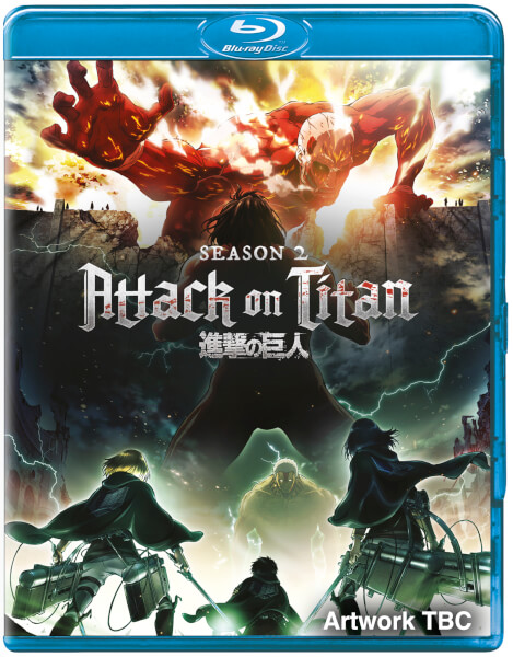 Attack On Titan - Season 02