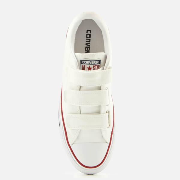 4506adab7bfd82 ... Converse Chuck Taylor All Star 3V Ox Trainers - WhiteInsignia  BlueGarnet size 40 9ca57 1130b  Womens Chuck Taylor All Star 3V Canvas  Sneaker ...