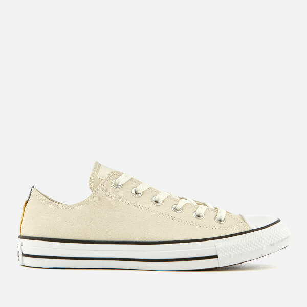 713b37ddd57a10 Converse Men s Chuck Taylor All Star Ox Trainers - Egret Black White ...