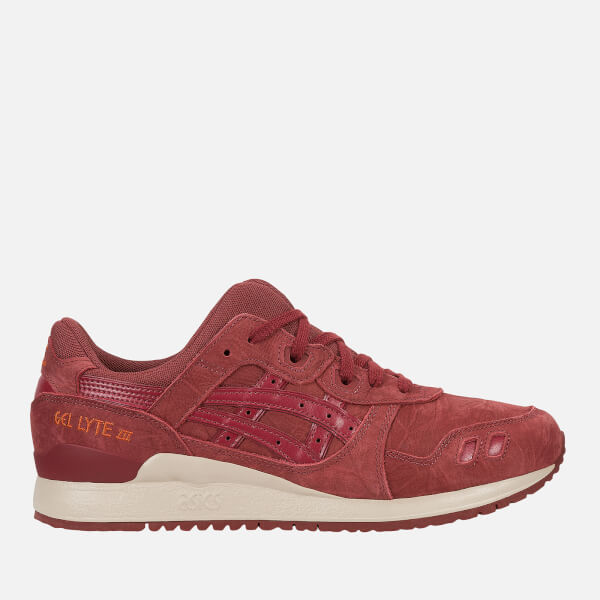 Asics Lifestyle Men's Gel-Lyte III Trainers - Russet Brown