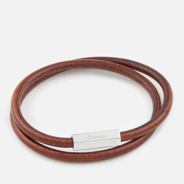 Miansai Men's Bare Wrap Bracelet - Cafecito