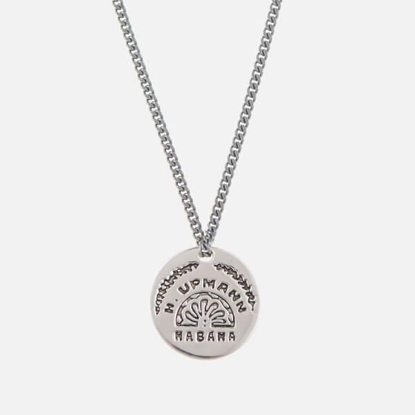 Miansai Men's Vinales Pendant Sterling Silver 24 Inch Necklace - Polished Silver