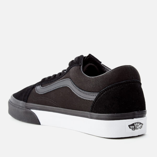8bc816e93f Vans Men s Mono Bumper Old Skool Trainers - Black True White  Image 2