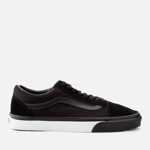 e79a314d82e1 Vans Men s Mono Bumper Old Skool Trainers - Black True White  Image 1