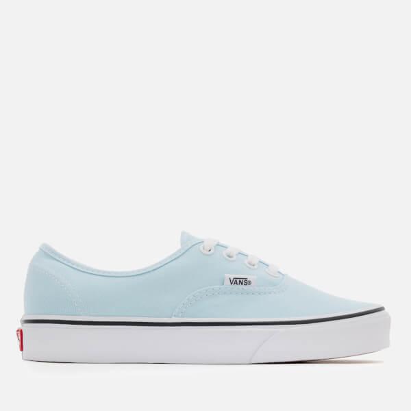 5ac54498e5e Vans Women s Authentic Trainers - Baby Blue True White  Image 1