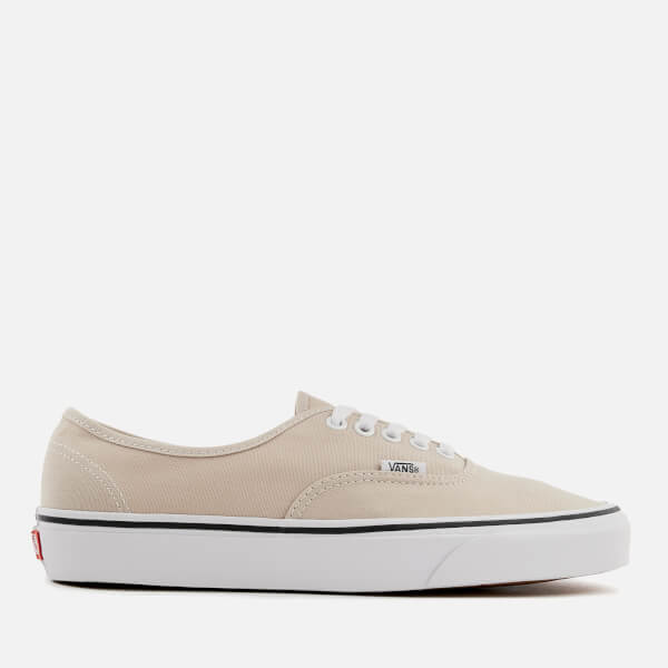 283a569db5 Vans Men s Authentic Trainers - Silver Lining True White  Image 1