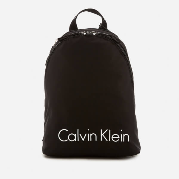Calvin Klein Women's City Nylon Backpack - Black
