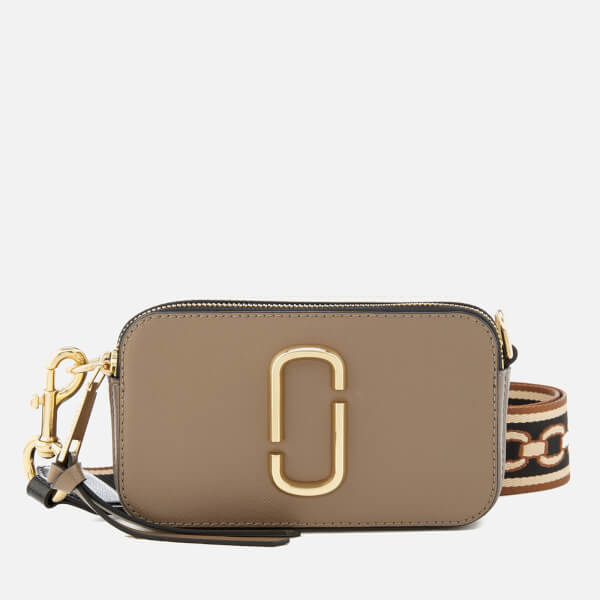 Marc Jacobs Women's Snapshot Cross Body Bag - French Grey/Multi