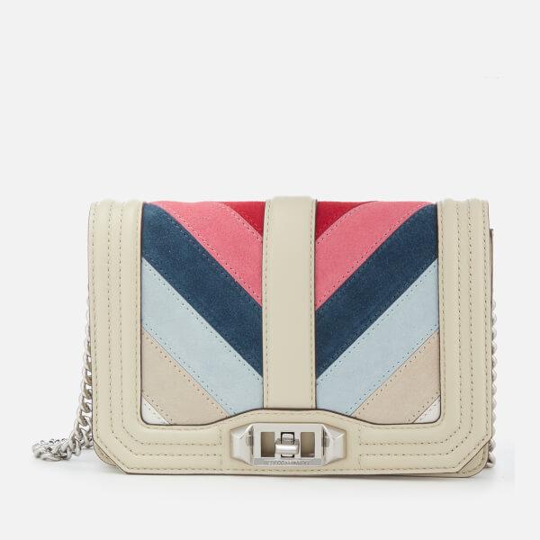 Rebecca Minkoff Small Love Crossbody (Pink Multi) Cross Body Handbags Y6lTgSqf