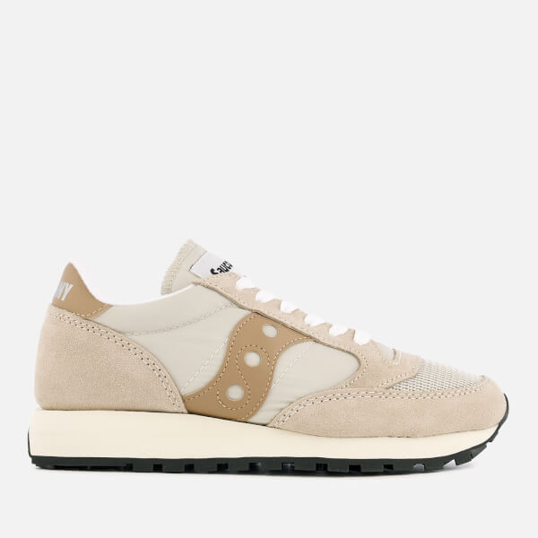 Saucony Women's Jazz Original Vintage Trainers - Cement/Tan