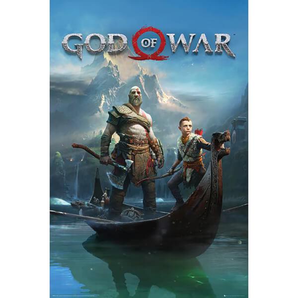 God of War Key Art Maxi Poster 61 x 91.5cm