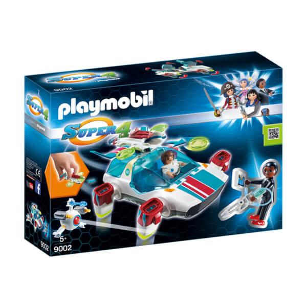 Playmobil Super 4 FulguriX with Agent Gene (9002)