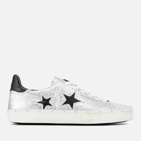 Rebecca Minkoff Women's Michell Flatform Trainers - /Stars Silver - UK 3