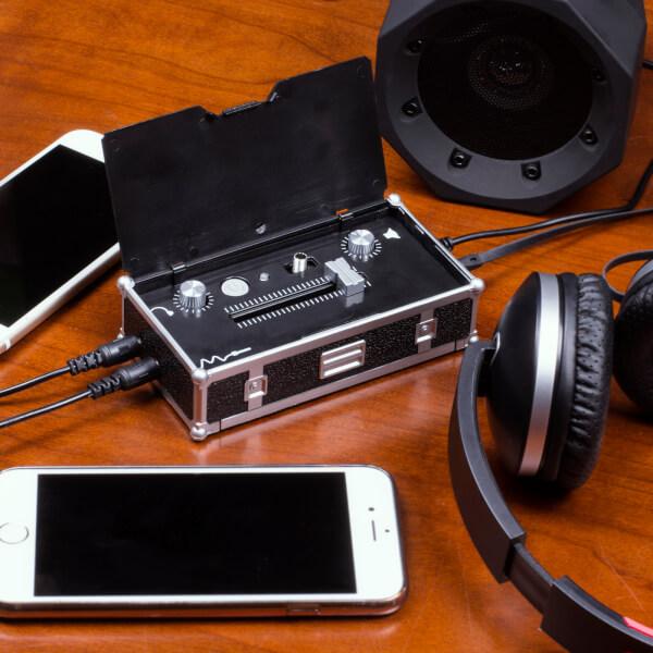 MP3 DJ Mini Mixer - Black