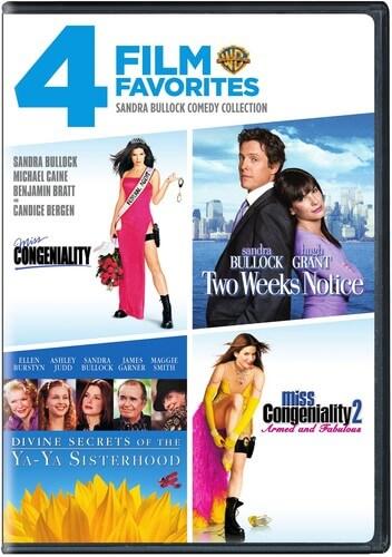 4 Film Favorites: Sandra Bullock Collection