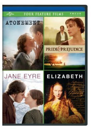 Atonement/Pride & Prejudice/Jane Eyre