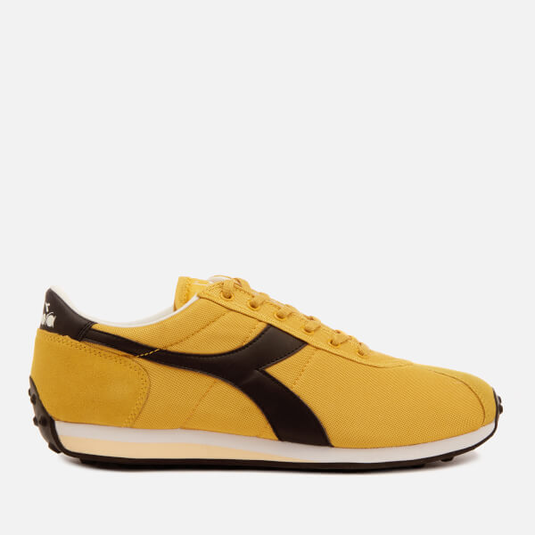 Men's Freesiablack Diadora Sirio Trainers £50 Free Uk Over Delivery ntddHF