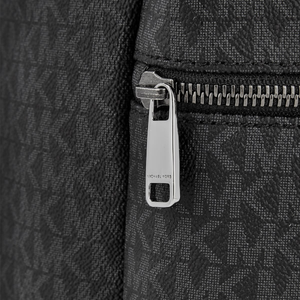 27e6fb25a4dcd Michael Kors Men s Jet Set Logo Backpack - Black  Image 3