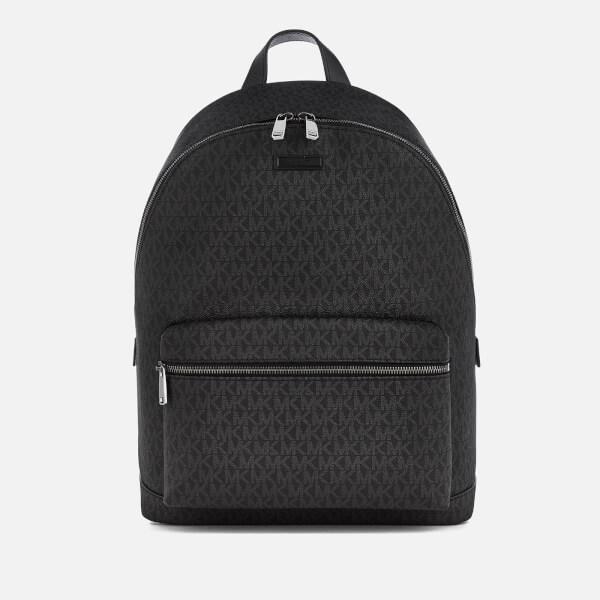 Michael Kors Men S Jet Set Logo Backpack Black