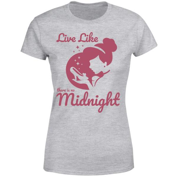 Disney Princess Midnight Women's T-Shirt - Grey
