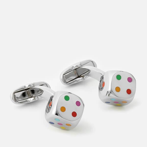 Paul Smith Accessories Men's Dice Cufflinks - Multi