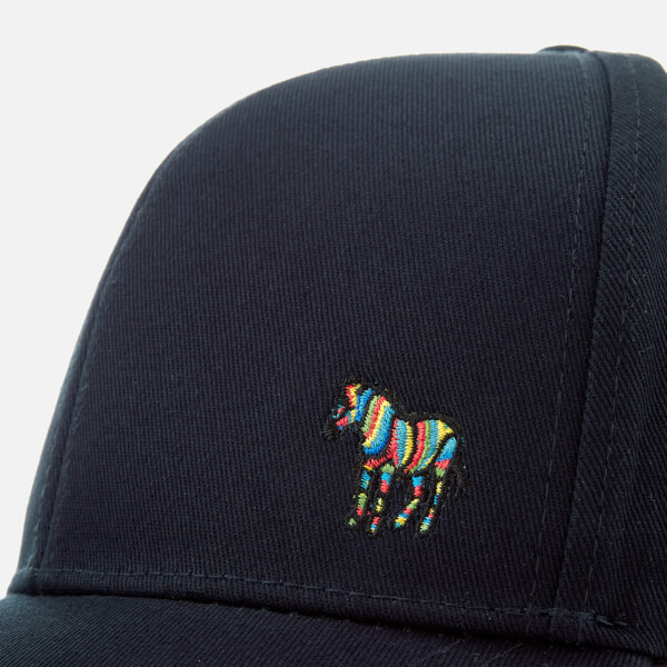 f1b1151e784 Paul Smith Accessories Men s Zebra Logo Cap - Blue  Image 4