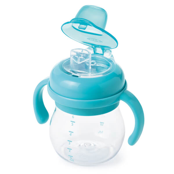 Oxo Transitions Soft Spout Sippy Cup With Handles 175ml