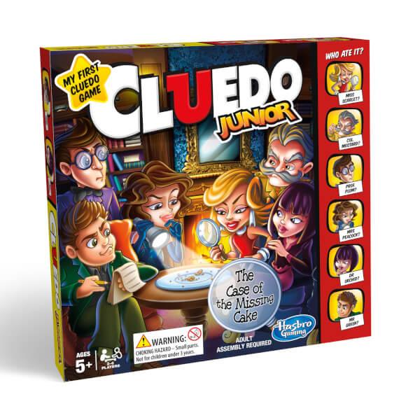Hasbro Gaming Cluedo Junior