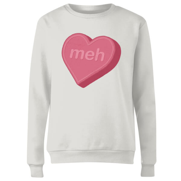Meh Women's Sweatshirt - White