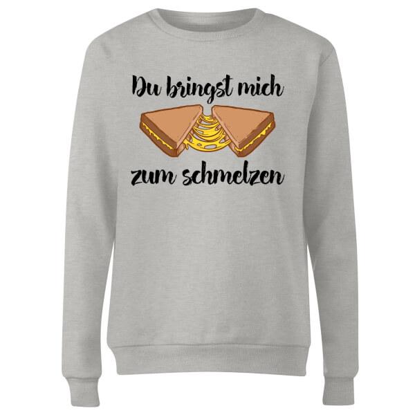 Zum Schmelzen Women's Sweatshirt - Grey