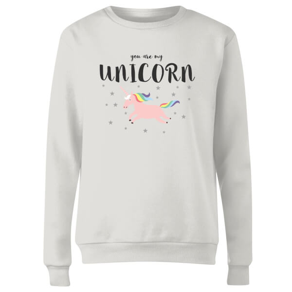 You Are My Unicorn Women's Sweatshirt - White